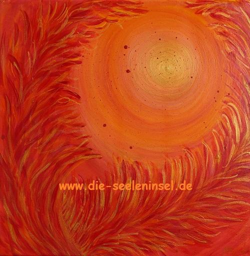 Energiebild Erzengel Uriel - das Feuer Gottes