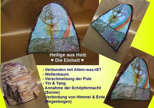Heilige aus Holz - Die Einheit