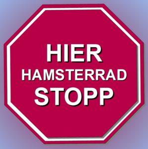 Hier Hamsterrad stopp