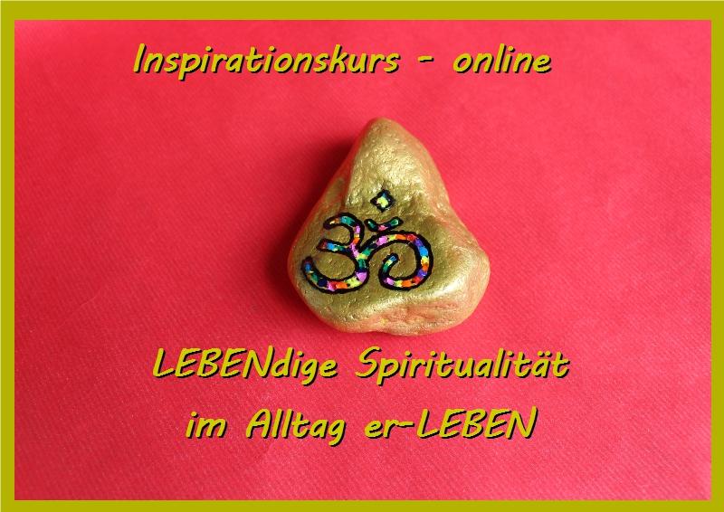 Spiritualität im Alltag – Inspirationskurs – online auf Facebook